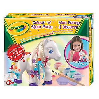 Crayola Colour 'n' Style Pony (Babies and Children , Toys , Educative And Creative)