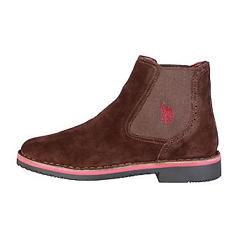 U.S. Polo Men Ankle boots Brown