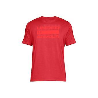 UA Team udstede Wordmark 1314002-600 Herre T-shirt