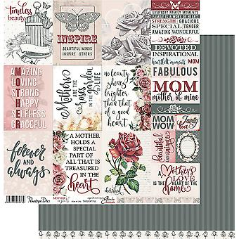 Mother Of Pearl Double-Sided Cardstock 12