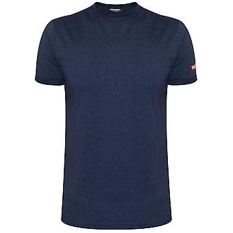 DSQUARED2 Underwear DSQUARED2 Indigo Blue Melange T-Shirt