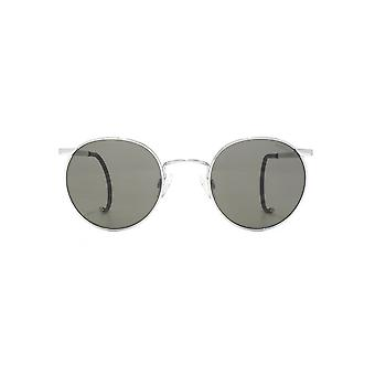 Randolph Engineering P3 Sunglasses In Bright Chrome Grey