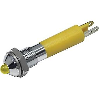 CML LED indicator light Yellow 12 Vdc 19020252