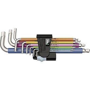 Allen Allen key set 9-piece Wera Multicolour