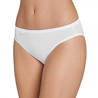 Sloggi Women EverNew Tai Brief, White, Size 10