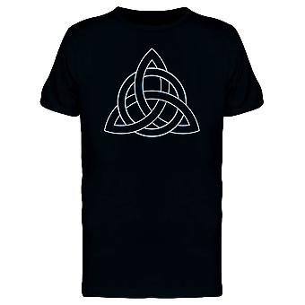 Celtic Knot Triquetra Tee Men's -Image by Shutterstock
