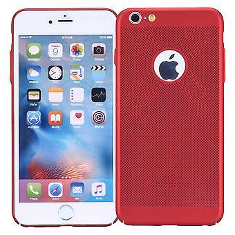 Mobiele telefoon geval voor Apple iPhone 6 / 6s hoes zaak tas cover case rood