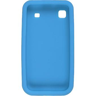 Wireless Solutions Silicone Gel Case for Samsung Galaxy S 4G T959 (Aqua Blue)