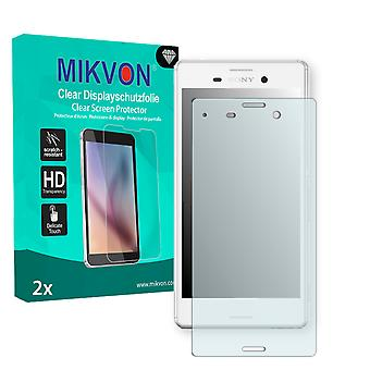 Sony Xperia M4 Aqua Screen Protector - Mikvon Clear (Retail Package with accessories)