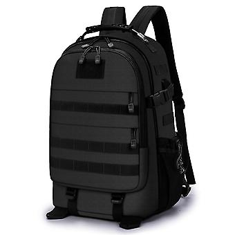 Backpack in black, 49x36x20 cm