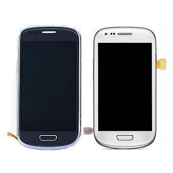Roba certificata® Samsung Galaxy S3 Mini Display (LCD + Touch Screen + parti) AAA + qualità - blu / bianco