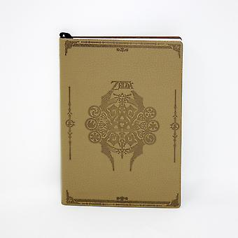 The legend of Zelda notebook Sage icon DIN A5, flexi-cover, look & feel like leather, 144 pages lined.