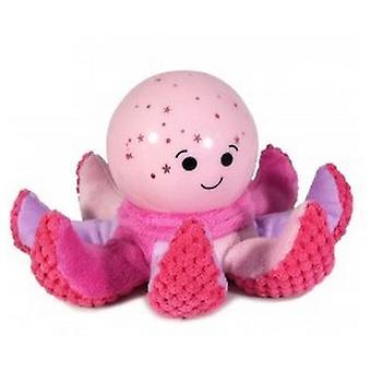 Night light Pink Plush Octopus