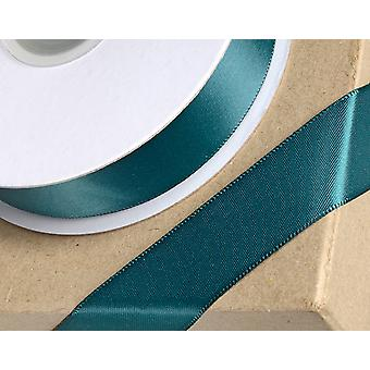 10mm Bottle Green Satin Ribbon for Crafts - 25m   Ribbons & Bows for Crafts