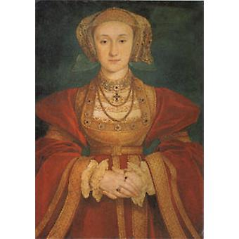 Ana de Cleves, Hans Holbein, 60 x 40 cm