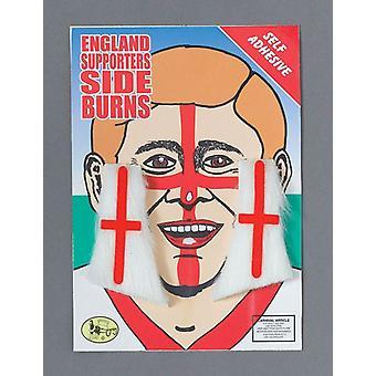 England St George Sideburns.