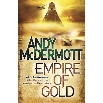 Empire af guld ved Andy McDermott - 9780755383245 bog