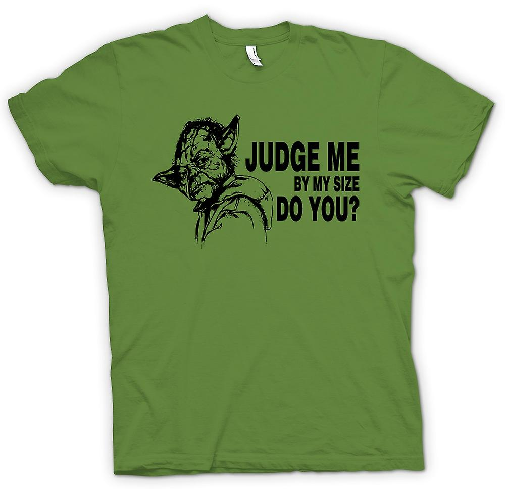 Mens T-shirt -  Yoda Judge Me - Star Wars - Funny