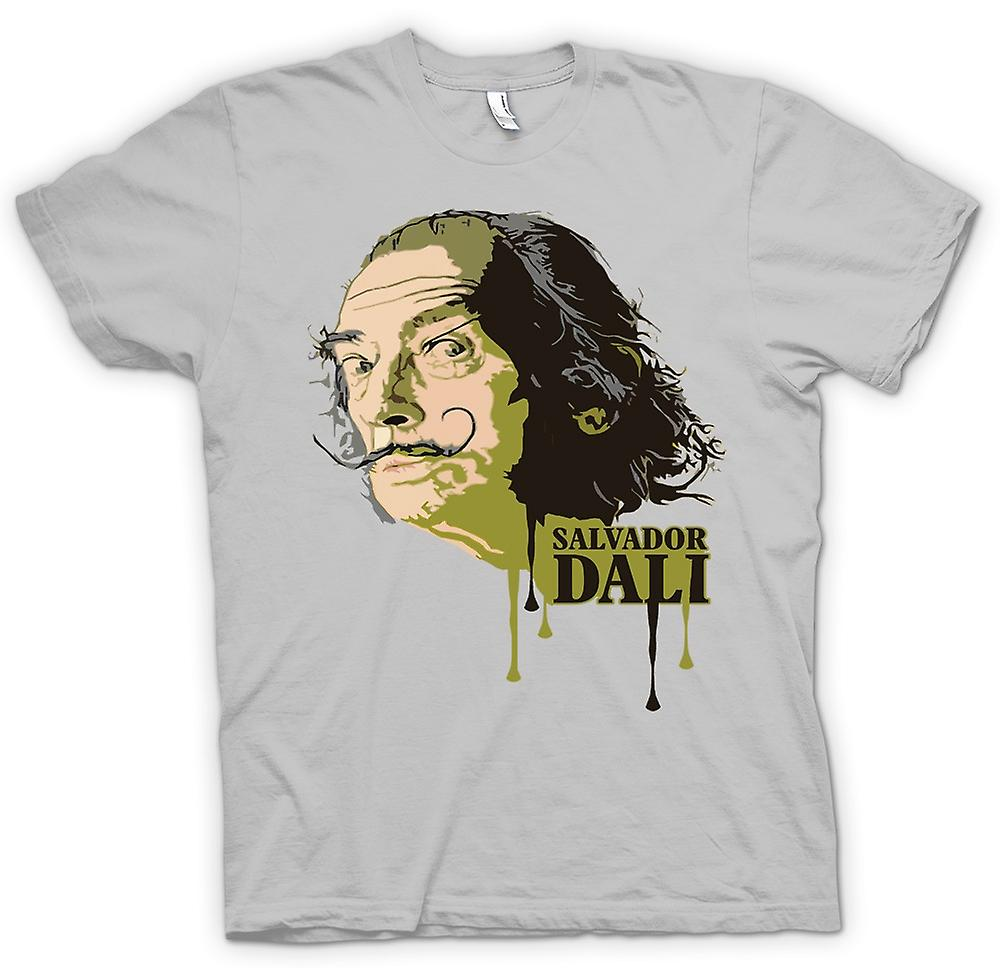 Mens t-shirt-Salvador Dali - surreale - artista