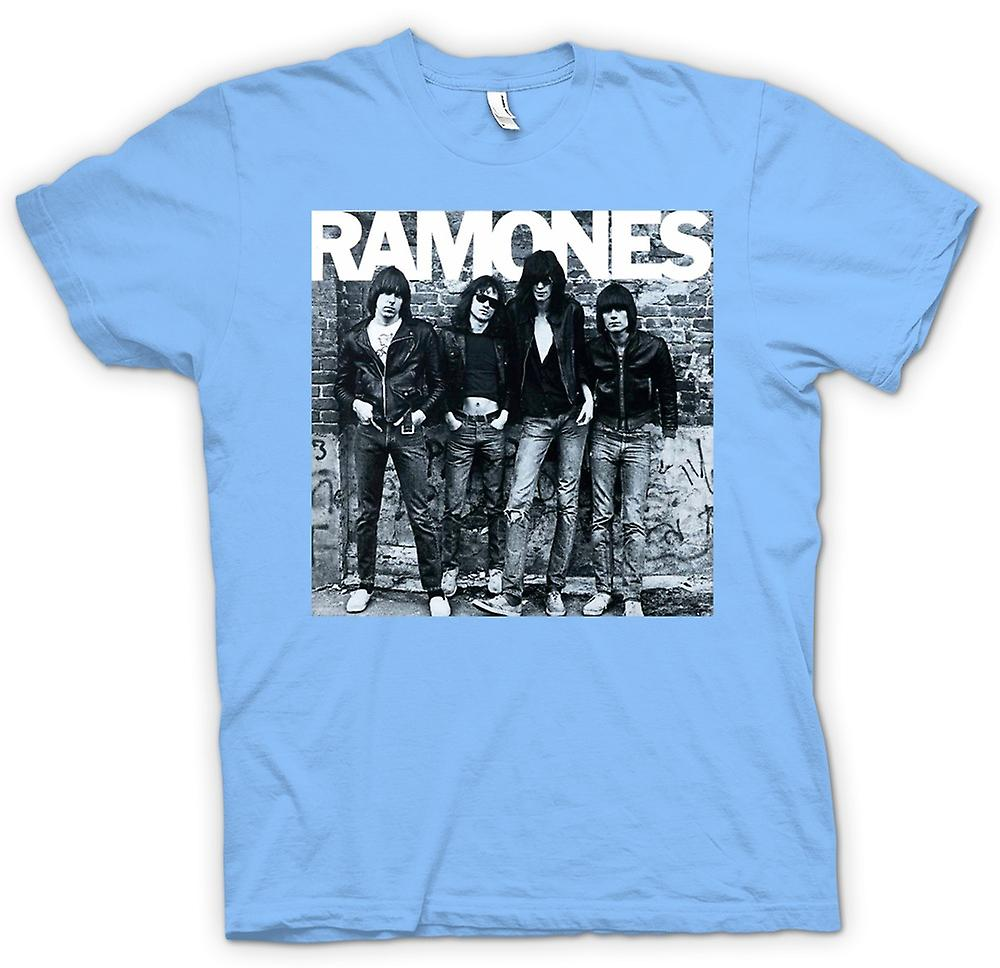 Mens T-shirt - Ramones - Punk Rock - Album Art