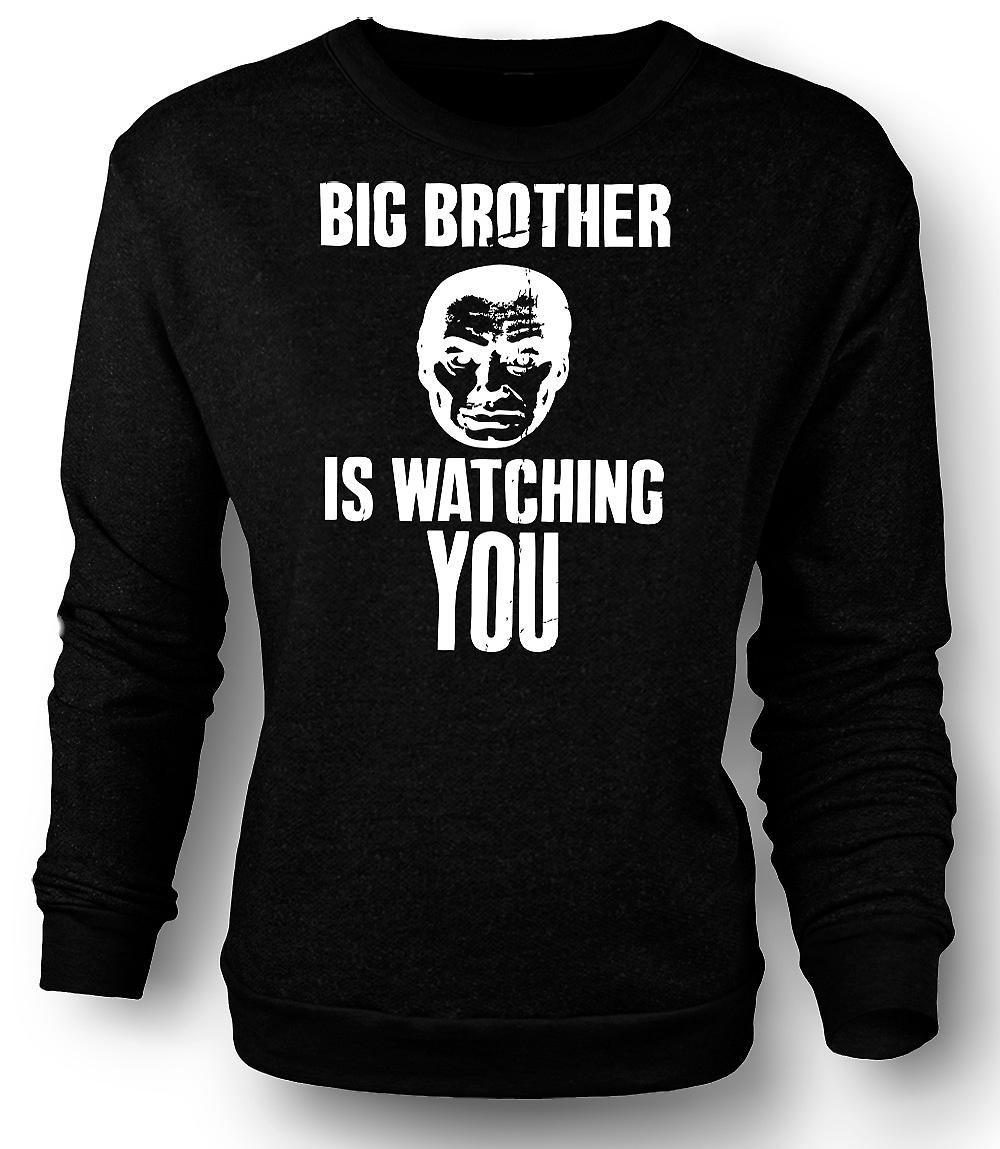 Mens Sweatshirt Big Brother Is Watching - 1984