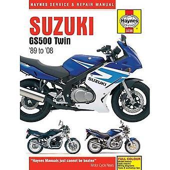 Suzuki GS500 tweeling Service en reparatie handleiding (Haynes Service en reparatie handleidingen)