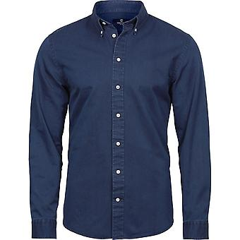 Tee Jays Mens Long Sleeve Casual Twill Shirt