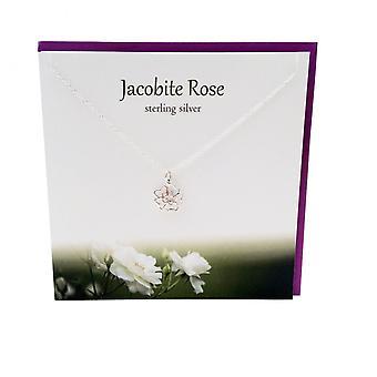 De zilveren Studio Outlander geïnspireerd collectie Jacobitisch Rose