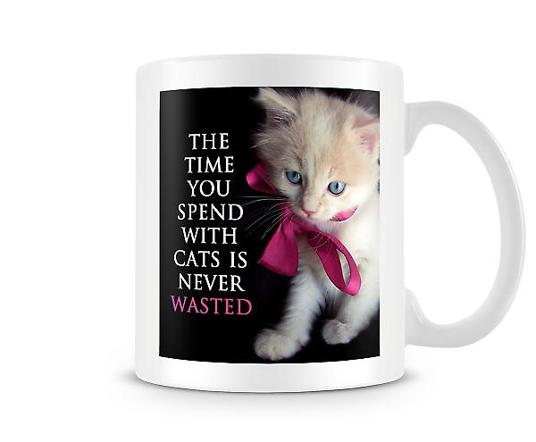Time Spend With Cats Not Wasted Mug