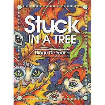 Vast in een boom door De jonge & Diane