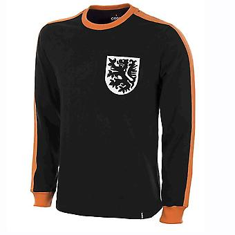 Holland målmand 1970 lang ærme Retro trøje 100% bomuld