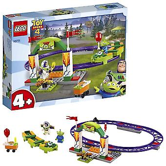 LEGO Toy Story 4 Carnival Thrill Coaster with Buzz Lightyear and Alien Minifigures - 10771