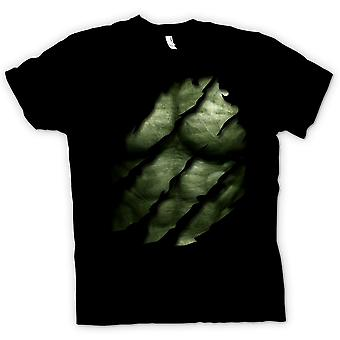 Mens T-shirt - The Hulk - Ripped Effect