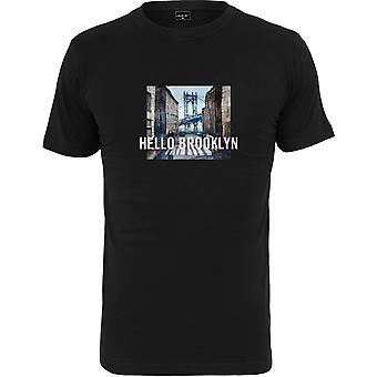 Mister Tee Shirt - HELLO BROOKLYN Black