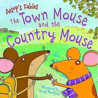 Aesop ' s Fables de stad muis en het land muis door Miles Kelly-