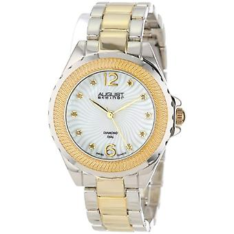 August Steiner with genuine mother of Pearl ladies watch