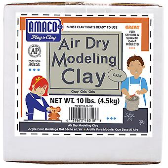 Air Dry Modeling Clay 10 Pounds Gray 4630 3C