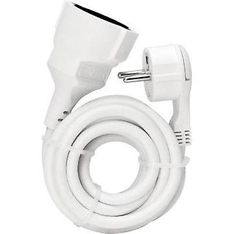 Current Extension cable [ Europlug - PG connector] White 2 m Kopp 143502087