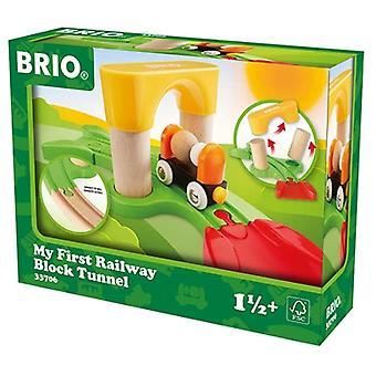 BRIO My First Railway Block Tunnel