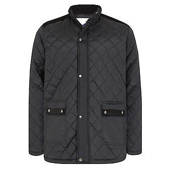 BadRhino sort quiltet jakke