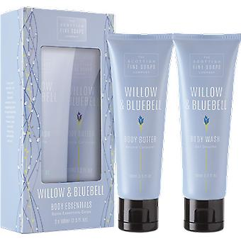 Scottish Fine Soaps Willow & Bluebell Body Essentials