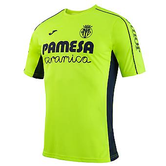 2016-2017 Villarreal Joma Training Shirt (Yellow)