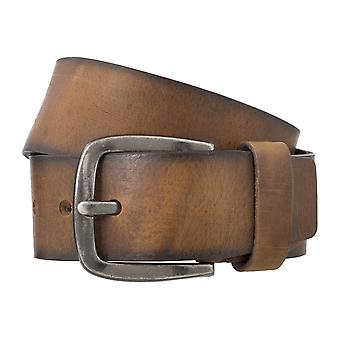 BERND GÖTZ belts men's belts leather belt cowhide Brown 4841
