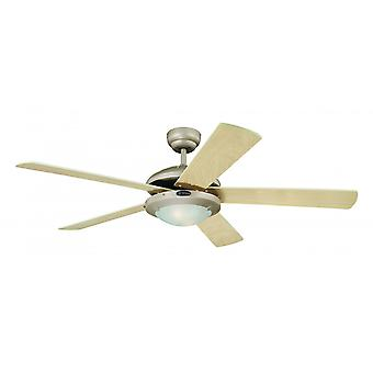 "Westinghouse ceiling fan Comet 132 cm / 52"" with lighting"