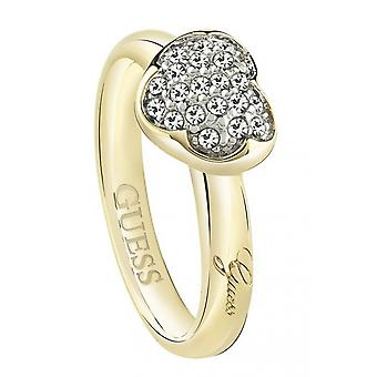 Suppose que les dames bague Crystal UBR72502