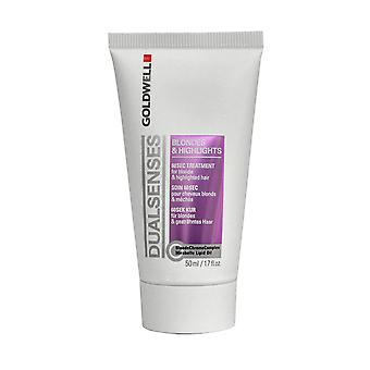 Dual Senses by Goldwell 60 Second Treatment 50ml for Blonde & Highlights