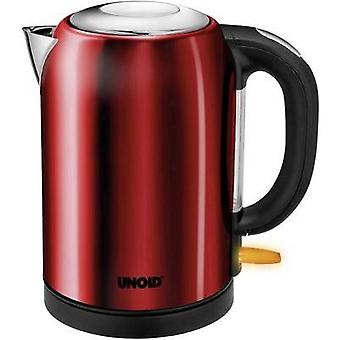 Kettle cordless Unold Bullet Red (metallic)