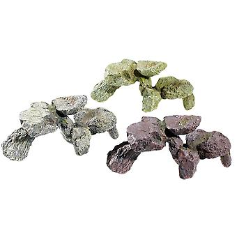 Classic Rocky Outcrops Rock Cluster 200mm (Pack of 3)