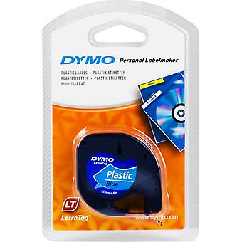 DYMO LetraTAG tapes, blue, 12 mm, 4 m (91225)