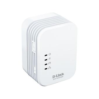 D-Link PowerLine AV 500 Mini Adapter for LAN, 500Mbps, 1xadapter, white